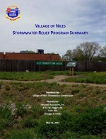 Niles Stormwater Relief Program Summary 2012
