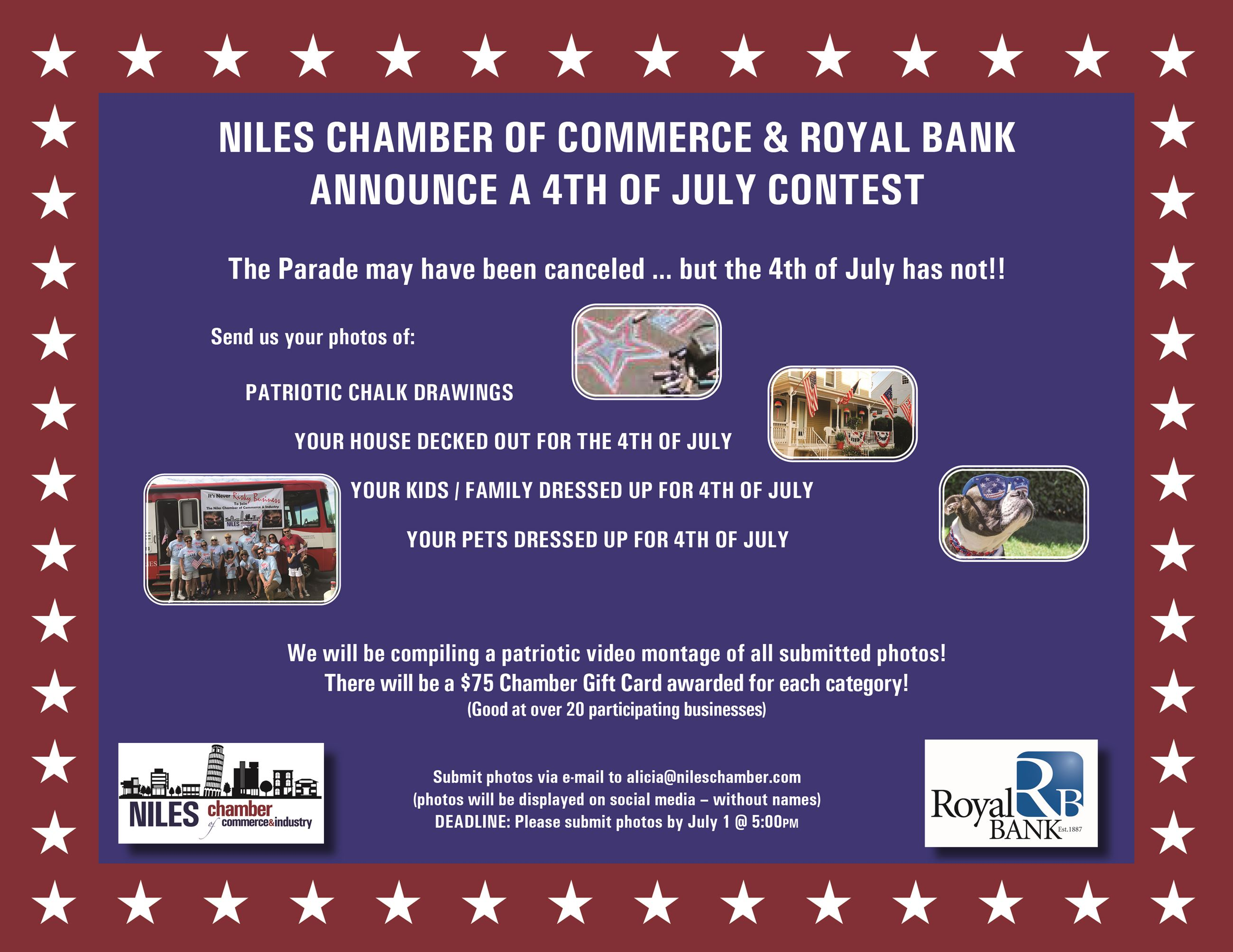 Flyer 4th of July 2020 Contest