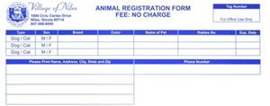 Animal Registration