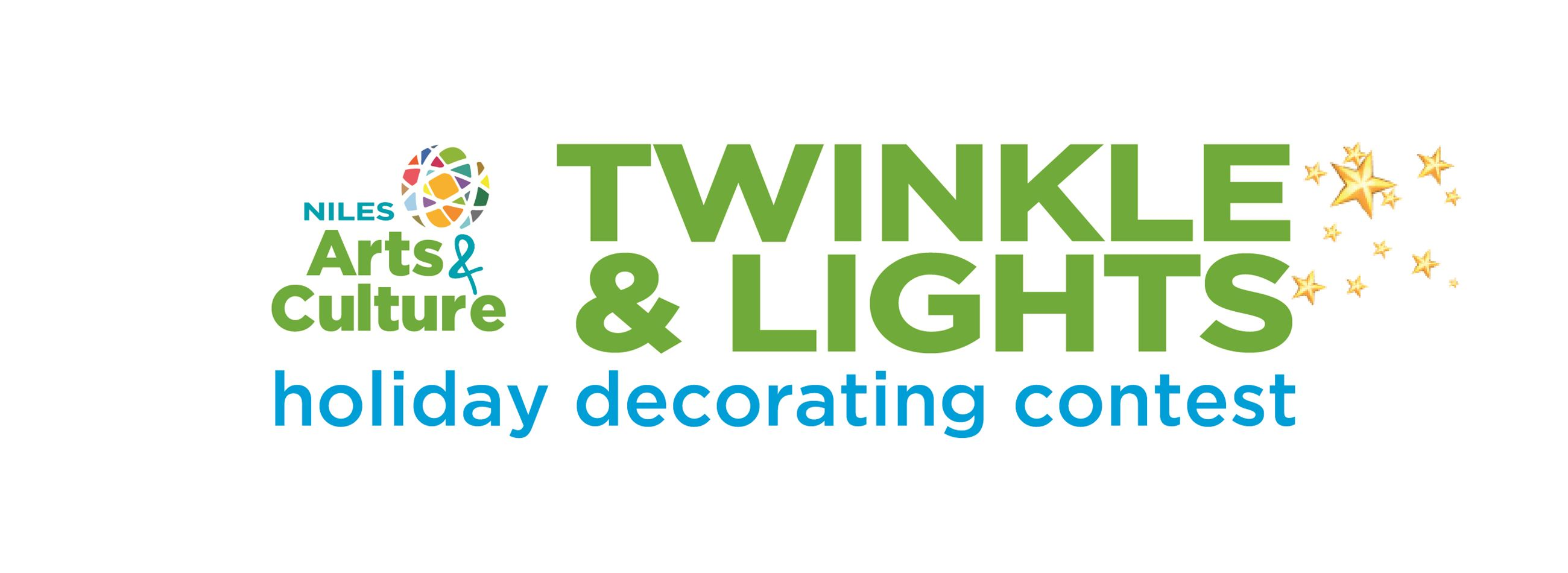 Logo for Twinkle and Lights 2017 with Stars