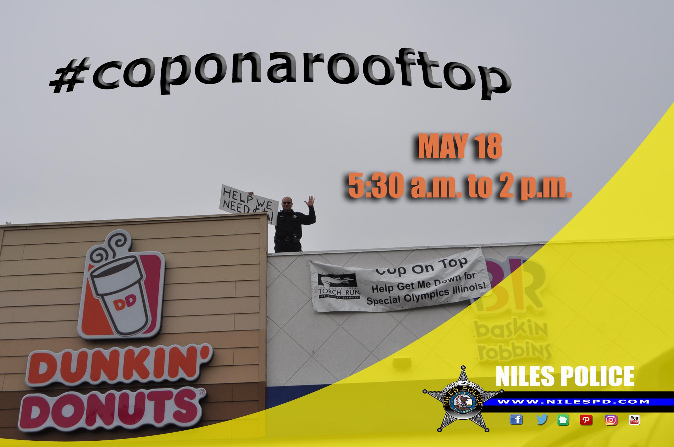 2018 cop on a roof top promo