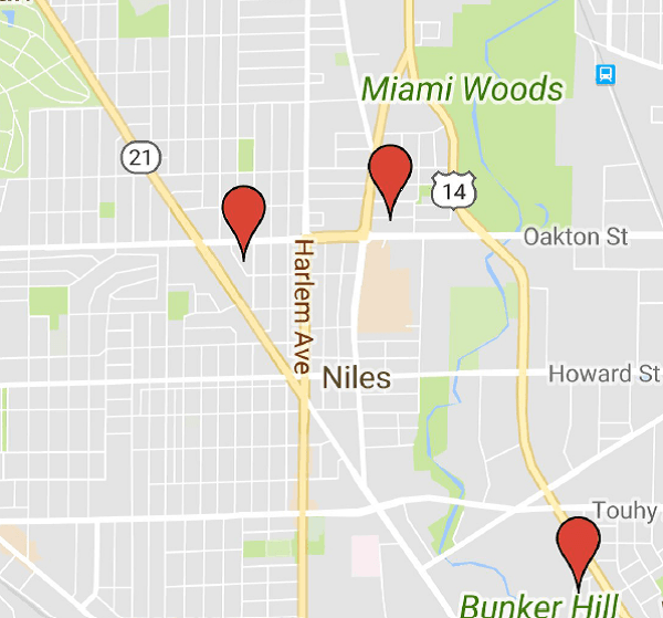 Garage sale map
