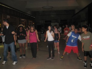 """Night In the Mall"" Lock-In - 10:30 p.m. Dancing"