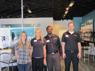 Job Shadow Day - Rachael at U.S. Cellular