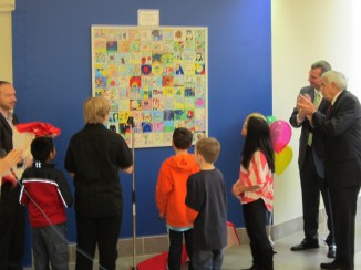 Tile Art Project Unveiling Ceremony