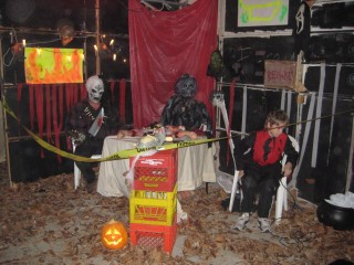 "The ""Hell Room"" at Haunted Garage"
