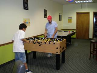 Foosball / Airhockey / Darts / Board Games