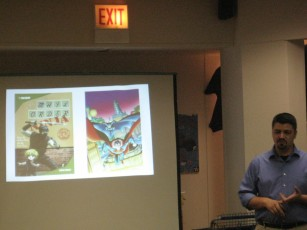 Speaker Series with Josh Elder Comic Book Author